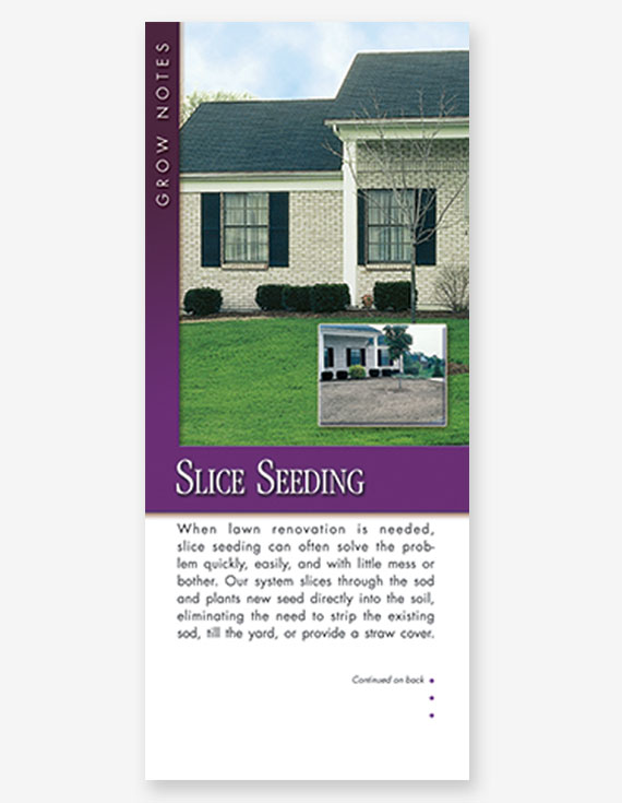 #303 - Slice Seeding Grow Note