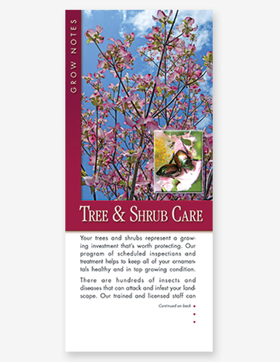 #304 - Tree and Shrub Care Grow Note