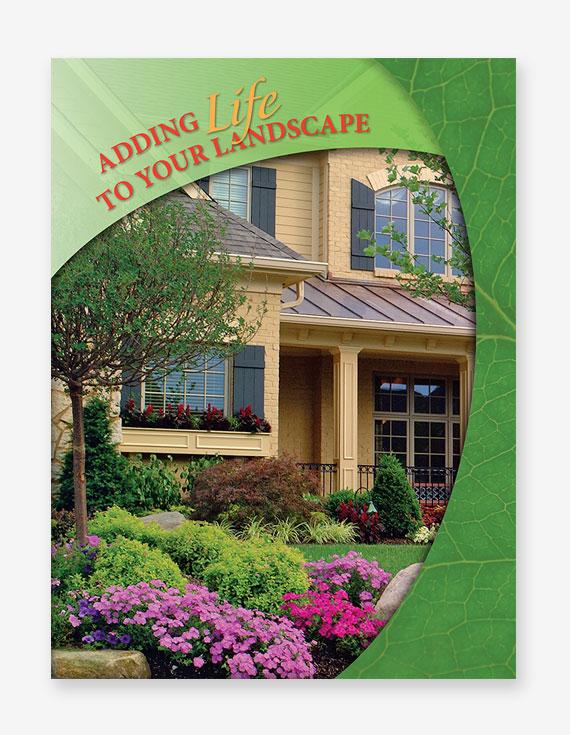 Landscape Stock Presentation Folders