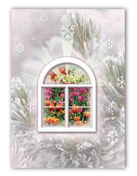 #120 - Window Greeting Card