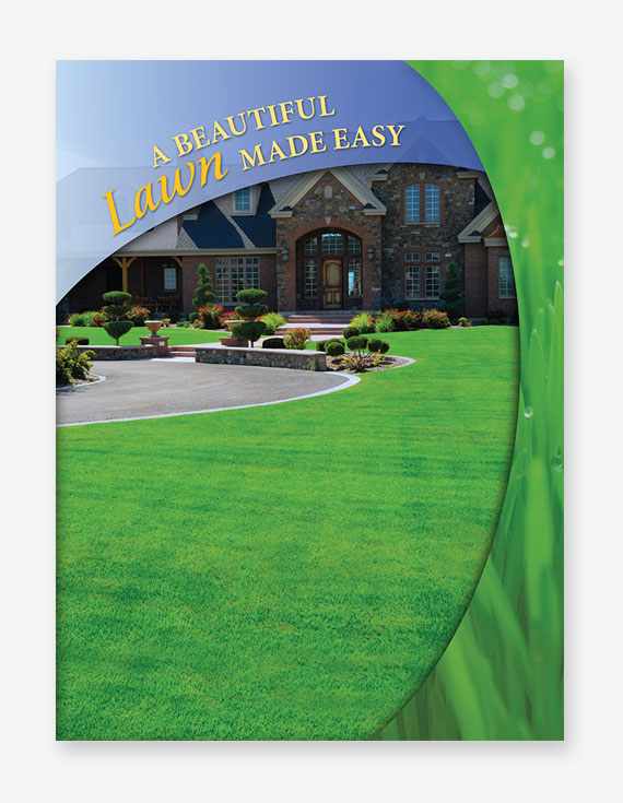 Lawn Care Stock Presentation Folders
